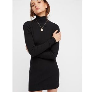 Around Town Turtle neck dress NWT (Black)